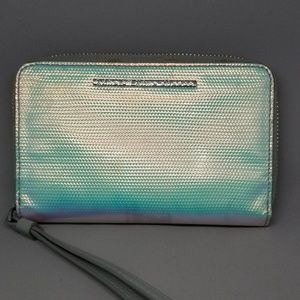 Marc by Marc Jacobs holographic wristlet